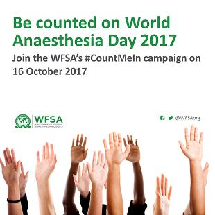 2017 World Anesthesia Day : October 16
